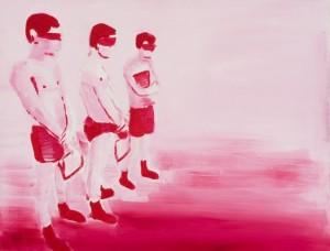 2Karminas, aliejus ant drobės, 70x90 cm, 2012